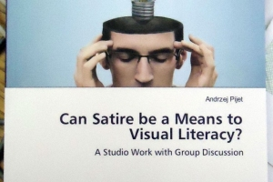 Can Satire be a Means to Visual Literacy