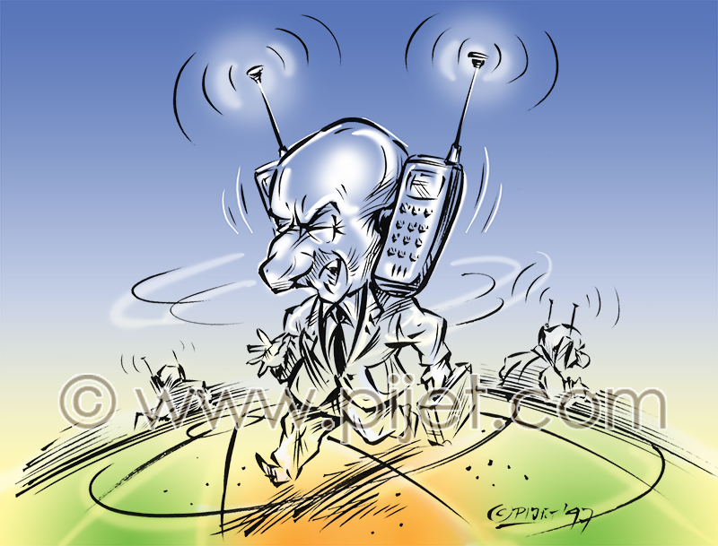 Cellular Businessman