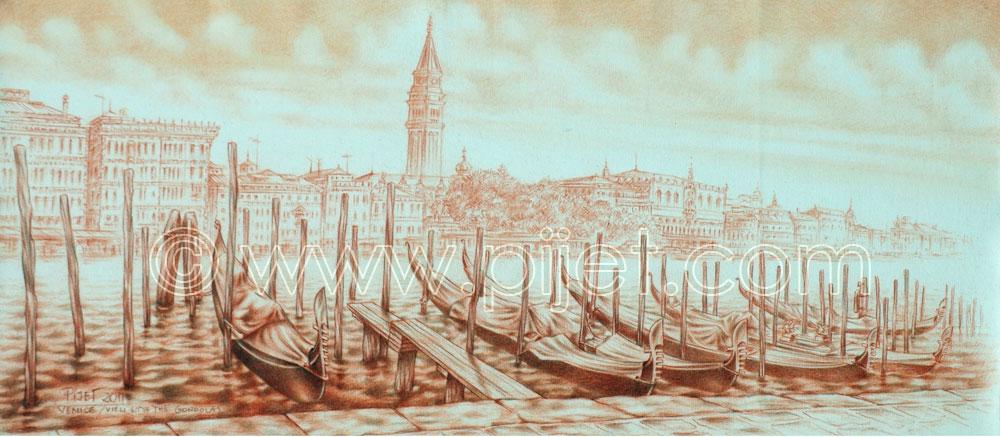 Venice, vie from the Sestiere Dorsoduro