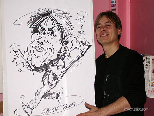 Andre_Pijet_self_caricature