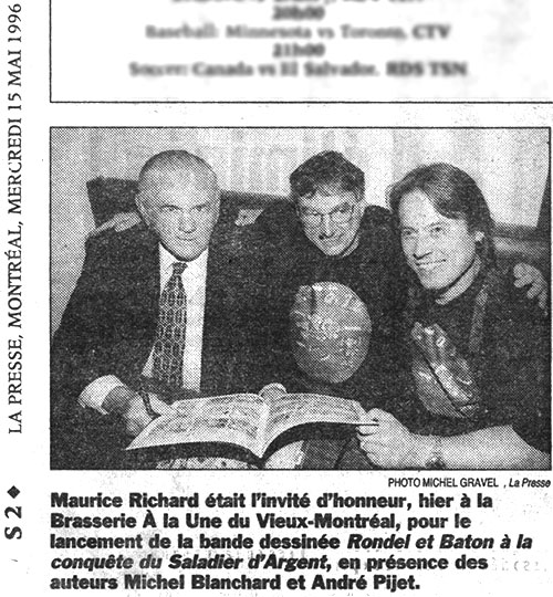 Maurice Richard Pijet 1996