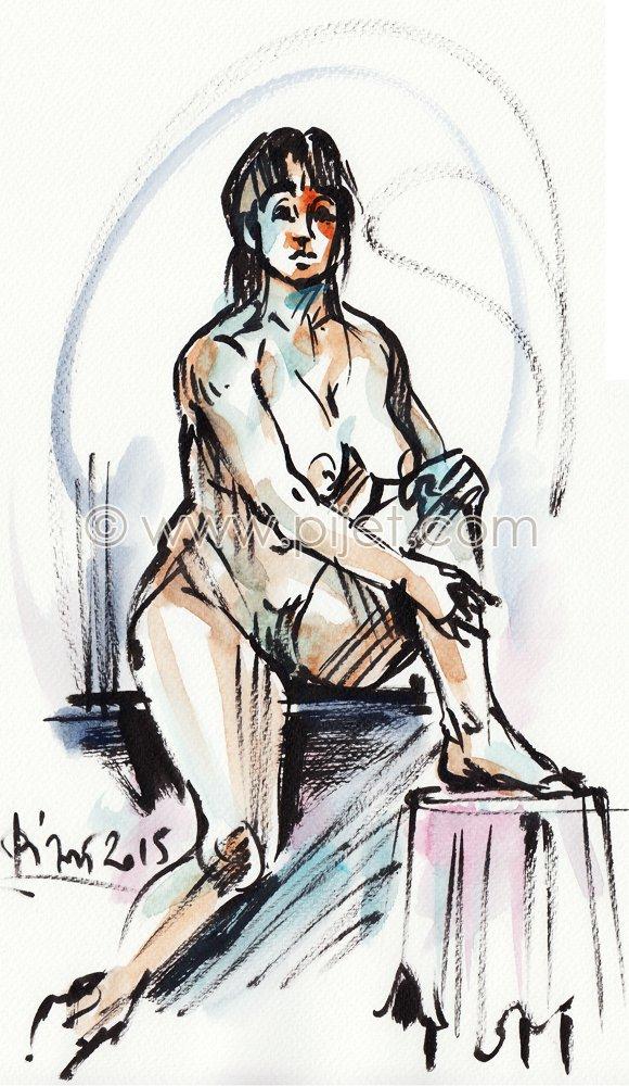 gesture drawing 7