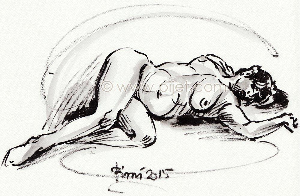 gesture drawing 10