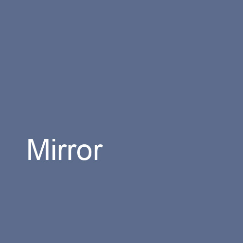 Mirror: A Psychological Door to the Otherness of Self