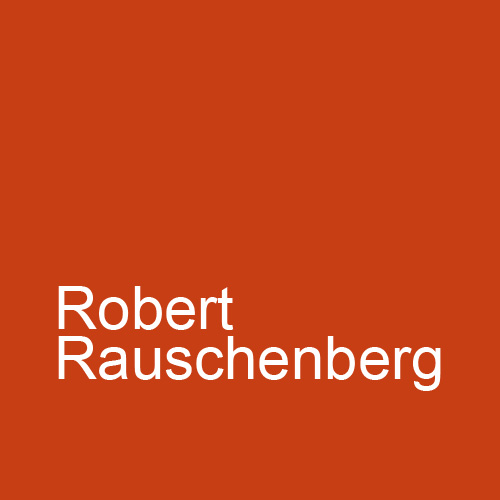 Robert Rauschenberg's Cardboards