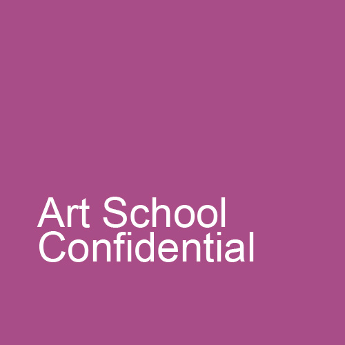 Art School Confidential: Satirical Reflection on the Studio Art Education Methods in America.